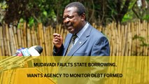 Mudavadi faults State borrowing, wants agency to monitor debt formed