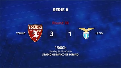 Match report between Torino and Lazio Round 38 Serie A