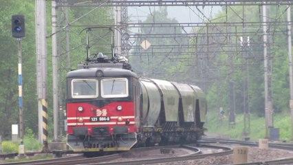Lokomotiva 121 084-8 a 740 721-6 - Rudoltice v Čechách, 28.5.2019 HD