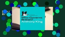[Read] Who Governs Britain?  For Kindle