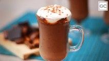 Chocolate quente cremoso | Receitas Guia da Cozinha