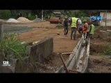 RTG/Constat des travaux de la réhabilitation sur l'axe routier préfecture  Ntoum