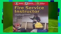 Library  Fire Service Instructor: Principles and Practice - National Fire Protection Association