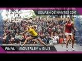 Squash: Moverley v Gilis - Women's Final - Open International de Squash de Nantes 2017