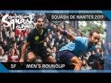 Squash: Men's SF Roundup - Open International de Squash de Nantes 2017