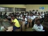 RTG/Reunion des élèves en classe d'examen par l'association Letoua Mpougou pour mieux orienter ces élèves avant le début des examens