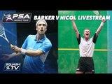 Squash: Pete Barker v Peter Nicol Exhibition