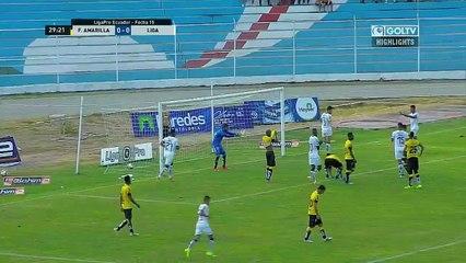 Fuerza Amarilla 1:1 LDU Quito