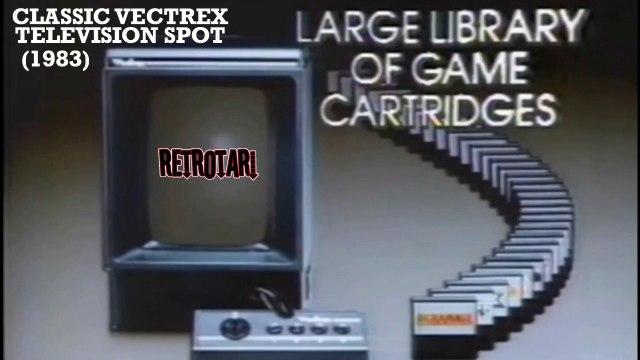 Classic VECTREX TV Spot (1983)