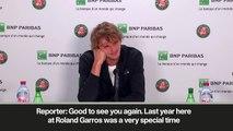 (Subtitled) 'If I win Roland Garros I am going to Yorkshire!' Zverev