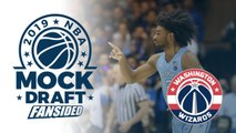 2019 NBA Mock Draft - Wizards select Coby White with No. 9 Pick