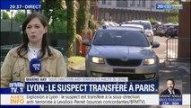 Colis piégé à Lyon: le suspect a été transféré à la sous-direction anti-terroriste en région parisienne