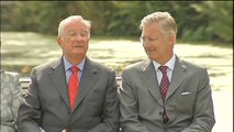 En Belgique, Albert II cède