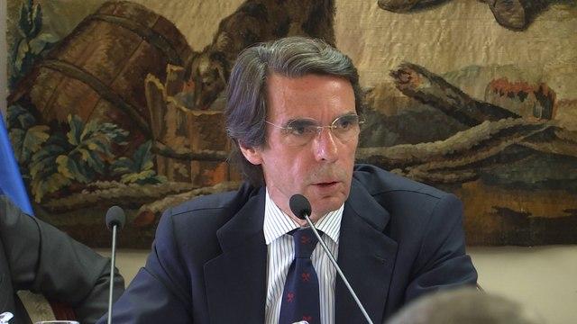 """Aznar: """"Europa debe hacer más, pero EEUU no debe hacer menos en OTAN"""""""