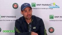 """Roland-Garros 2019 - Fabio Fognini : """"C'est toujours dur de jouer un ami"""""""