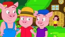Les Trois Petits Cochons | dessin animé en français - conte pour enfants | version courte
