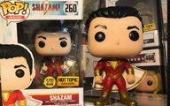 SHAZAM MOVIE FUNKO POP HOT TOPIC GLOW IN THE DARK REVIEW DC COMICS