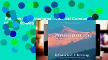 Full version  Annapurna: The First Conquest of an 8,000-Meter Peak  Review