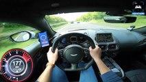 NEW! Aston Martin Vantage V8 299 km/h Autobahn POV by AutoTopNL