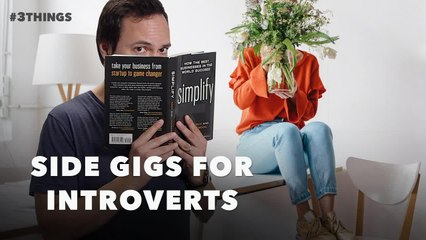 5 Jobs for Introverts Looking to Make Extra Money (60-Second Video)