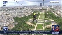 La géante tyrolienne depuis la tour Eiffel est de retour