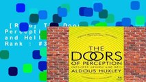 [Read] The Doors of Perception and Heaven and Hell  Best Sellers Rank : #3