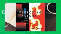 [Read] Directing Actors  For Free
