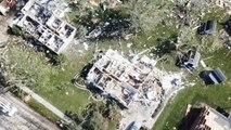 Dégâts importants dans l'Ohio à la suite de violentes tornades