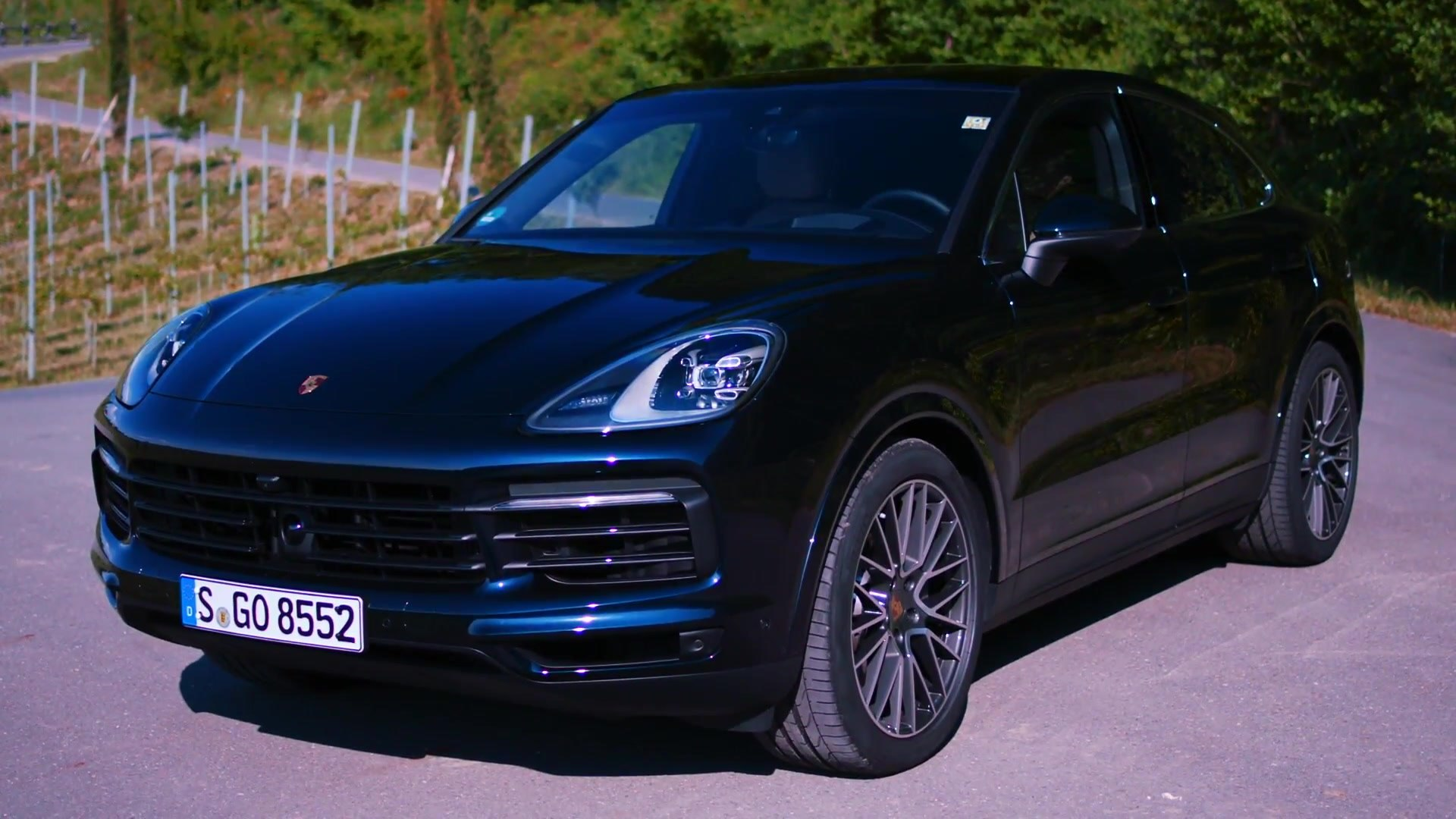 Porsche Cayenne S Coupe Design In Moonlight Blue Video Dailymotion