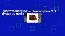 [MOST WISHED]  British pharmacopoeia 2014 [Print & CD-ROM & Online access]