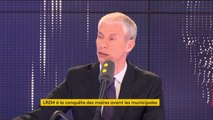 """""""Les LR sont dans un état d'esprit  s'opposer systématiquement"""", estime Franck Riester, ministre de la Culture"""
