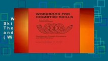 Workbook for Cognitive Skills: Exercises for Thought-processing and Word Retrieval (William