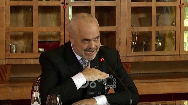 RTV Ora - Mesazh Krimeve të Rënda për Tahirin? Rama: Nuk çoj mesazhe askund për askënd