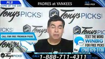 San Diego Padres vs New York Yankees 5/29/2019 Picks Predictions