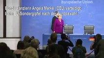 Merkel: Wir stehen zu Weber