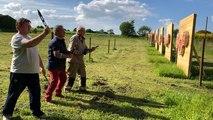 Le Cercle celtique des lanceurs de couteaux se prépare pour les championnats de France