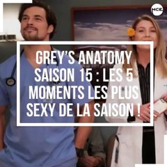 Grey's Anatomy saison 15: Les 5 moments les plus sexy de la saison !