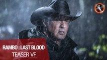 RAMBO : LAST BLOOD - Teaser VF_