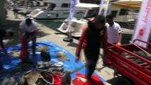 Fethiye'de deniz dibi temizliği - MUĞLA