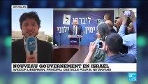 """Nouveau gouvernement en Israël : """"Il manque un siège à Benyamin Netanyahu"""""""