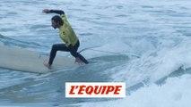 Le 10 d'Antoine Delpero aux Mondiaux de longboard à Biarritz - Longboard - Mondiaux