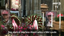 """""""Tschüss Niki Lauda"""", l'Autriche dit adieu à son héros"""
