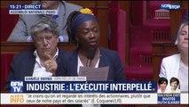 """Danièle Obono (LFI) sur General Electric : """"Dans ce dossier l'intérêt national a été marchandé"""""""