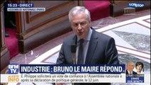 """Bruno Le Maire demandera au président de General Electric """"d'améliorer son plan social"""""""