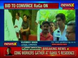 Rahul Gandhi Resignation: Congress Workers Holds Protest March at Rahul Gandhi's Residence
