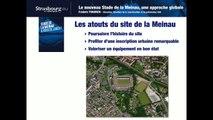 Réunion de lancement concertation stade de la Meinau