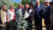 Arménie : la délégation provençale se recueille sur le site du mémorial du génocide