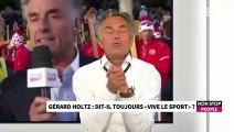 """France Télévisions : Gérard Holtz fâché contre l'arrêt de """"Thé ou Café"""" (Exclu Vidéo) BROUILLON"""
