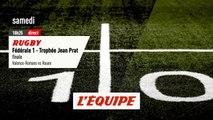 Finale Valence-Romans vs Rouen, bande-annonce - RUGBY - FÉDÉRALE 1