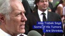 Alex Trebek Says Some of His Tumors Are Shrinking